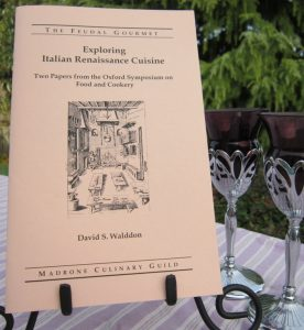 Italian Ren Cuisine pamphlet